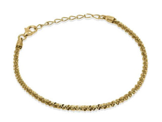Bracciale Twinkle Chain 18,5 cm - Argento 925 Made in Italy