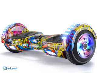 scooter hoverboard 6.5 pollici con led ruota